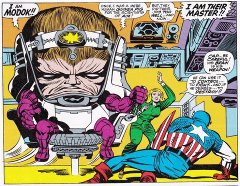 Modok first appearance