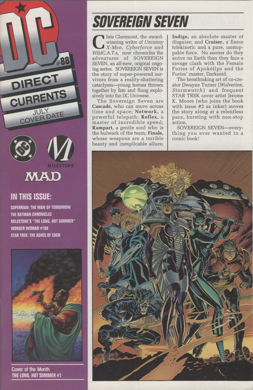 Time Capsule: DC Direct Currents 88 July 1995