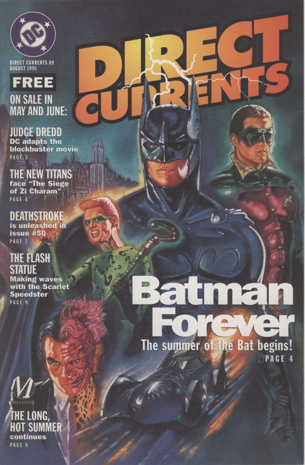 Time Capsule: DC Direct Currents 89 August 1995