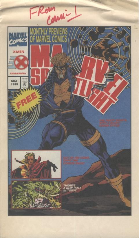 Marvel Spotlight May 1991 Page 1