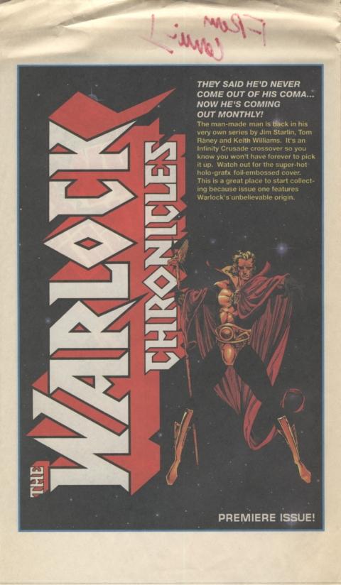 Marvel Spotlight May 1991 Page 2