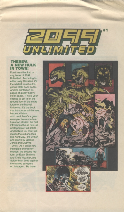 Marvel Spotlight May 1991 Page 3
