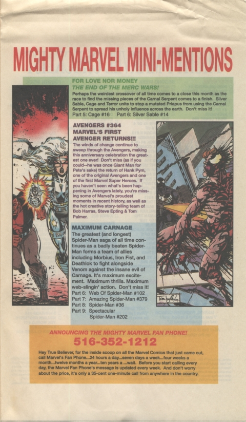 Marvel Spotlight May 1991 Page 7