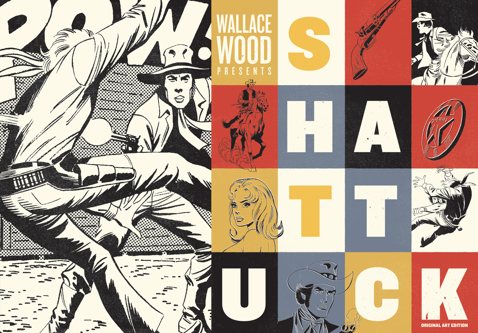 Review | Wallace Wood Presents Shattuck Original Art Edition