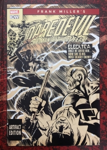 Frank Miller's Daredevil Artifact Edition cover
