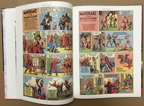 Mandrake The Magician Sundays 1935-1937 interior 3