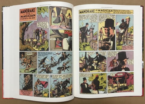 Mandrake The Magician Sundays 1935-1937 interior 4
