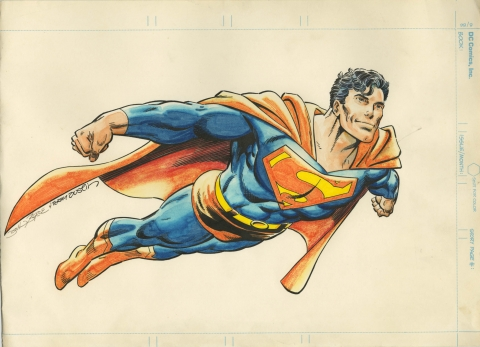 Superman by John Byrne and Terry Austin.  Source.