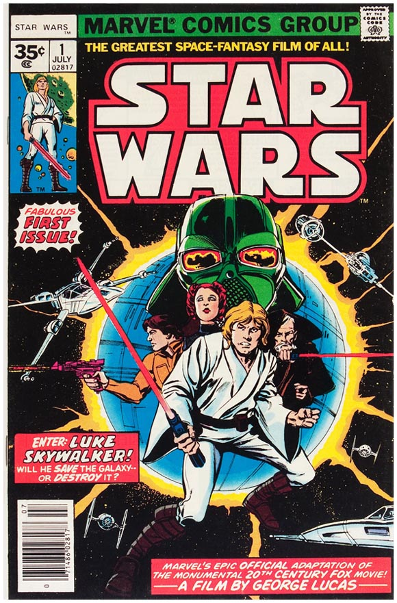 Star Wars #1, 35¢ Variant
