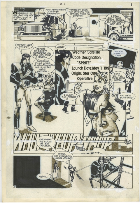 American Flagg! issue 10 page 6 by Howard Chaykin. Source.