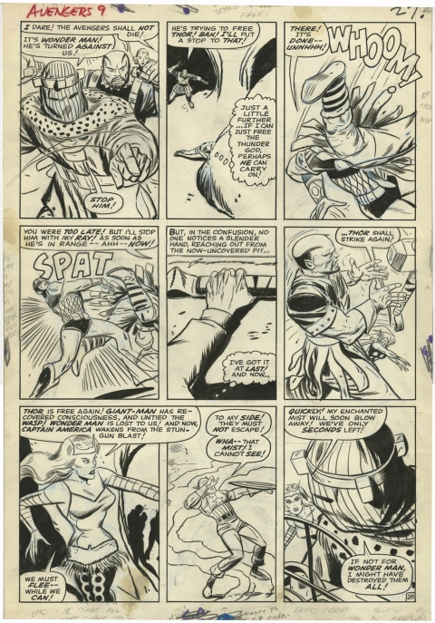 Avengers issue 9 page 20 by Don Heck and Dick Ayers.  Source.