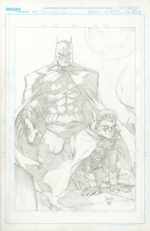 Batman and Robin by Greg Capullo. Source.