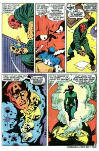 Captain America 114 interior