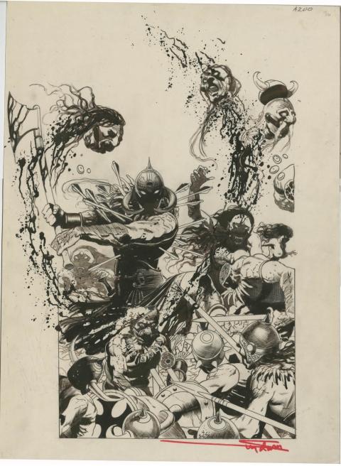 Death Dealer by Arthur Suydam. Source.