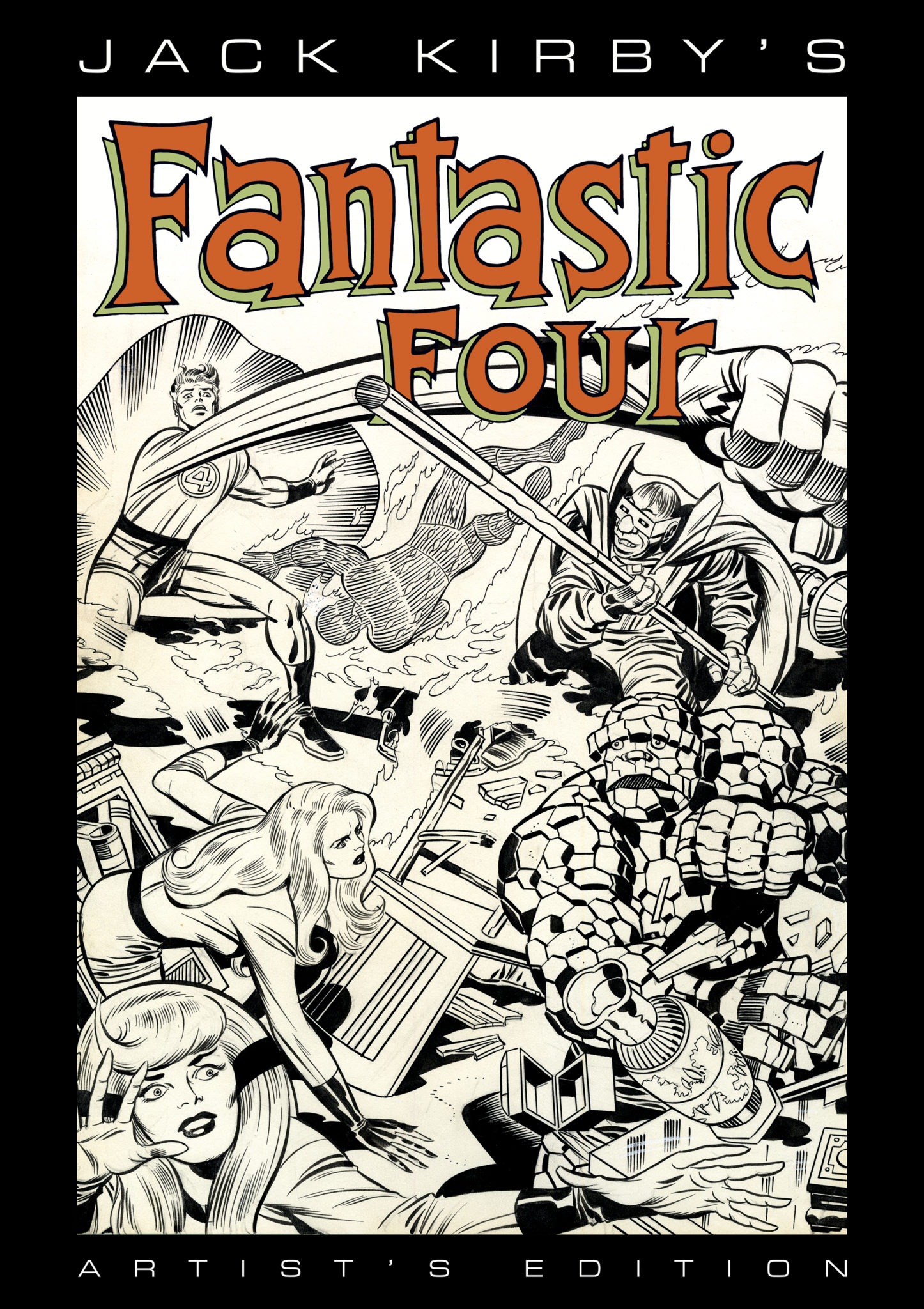 Jack Kirby's Fantastic Four Artist's Edition Announced At SDCC