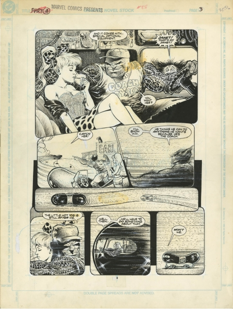 Marvel Comics Presents issue 88 page 3 by Sam Kieth.  Source.