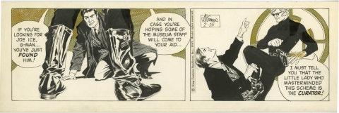 Secret Agent Corrigan 2-15-1969 by Al Williamson. Source.