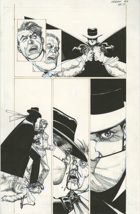 Shadow: Midnight In Moscow issue 4 page 17 by Howard Chaykin. Source.