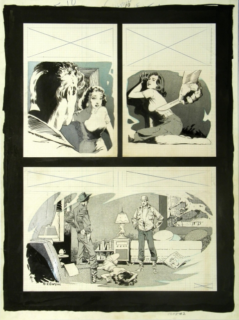 Shock Illustrated issue 2 page 10 by Al Williamson and Angelo Torres.  Source.