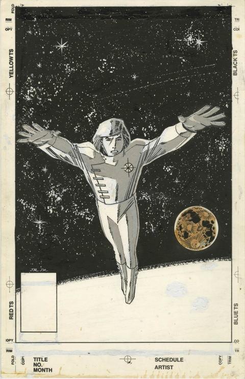 Star Brand unused cover by John Romita Jr.  Source.