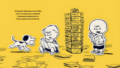 Charles M. Schulz Artist's Edition Dahlk about page