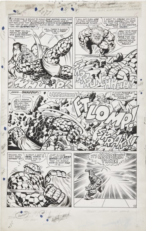 Fantastic Four issue 63 page 12 by Jack Kirby and Joe Sinnott. Source.