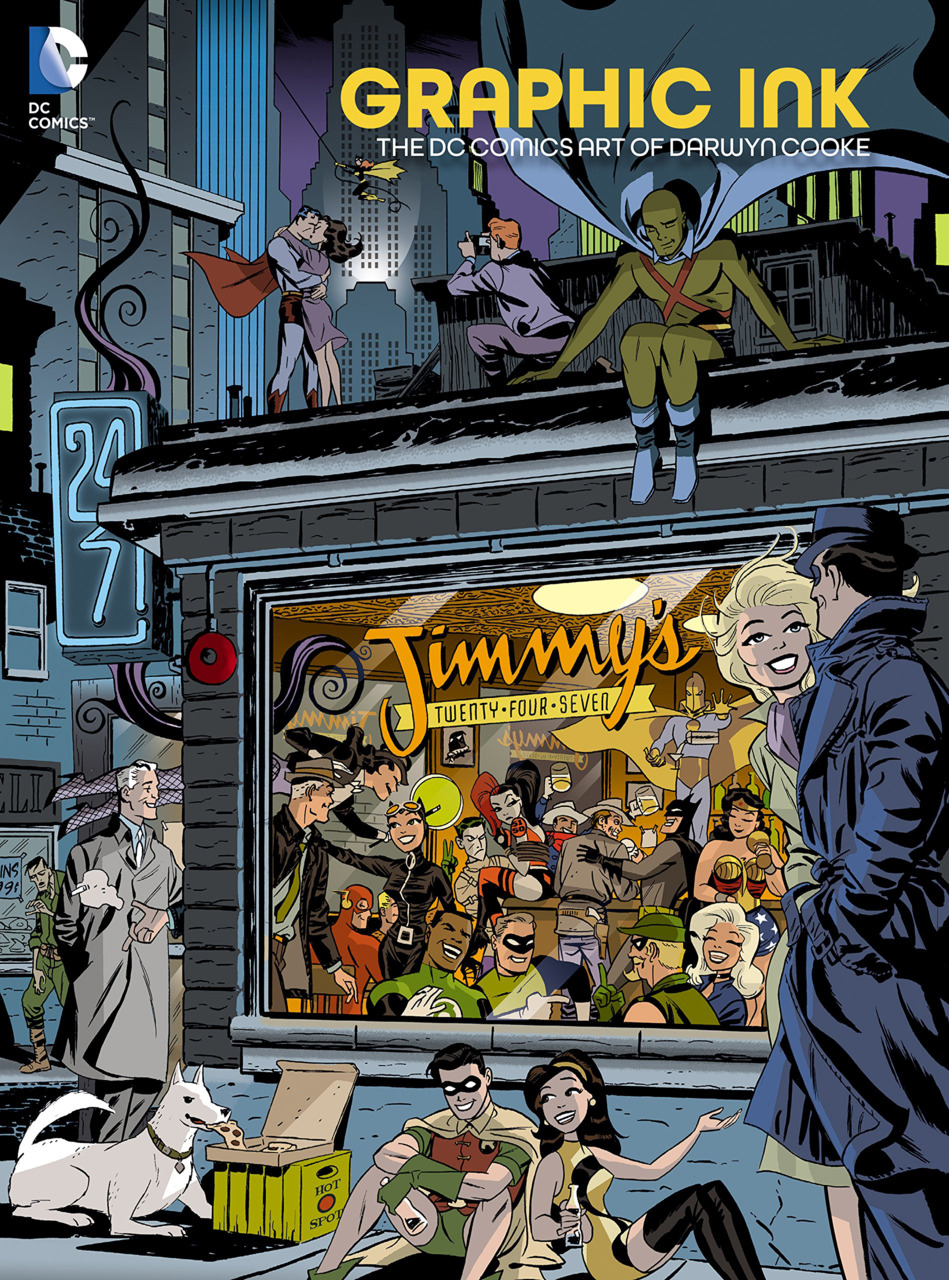 Graphic Ink-The DC Comics Art of Darwyn Cooke