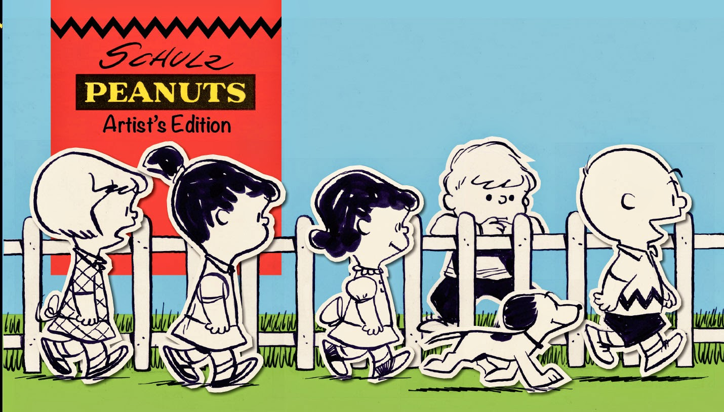 Review   Charles M. Schulz Peanuts Artist's Edition