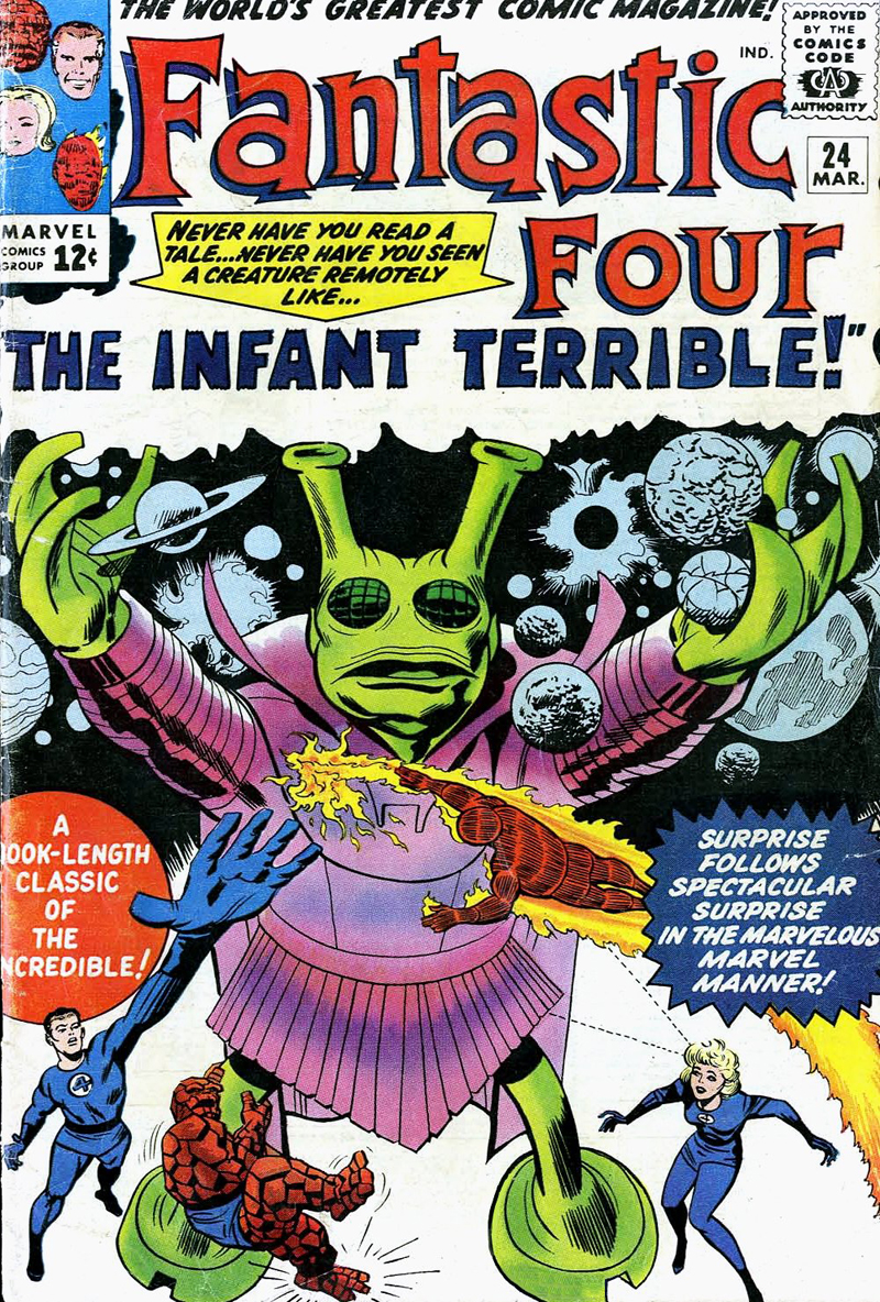 Overvalued Overstreet | Fantastic Four #24