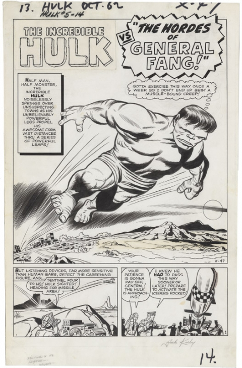 incredible-hulk-issue-5-splash-by-jack-kirby-and-dick-ayers