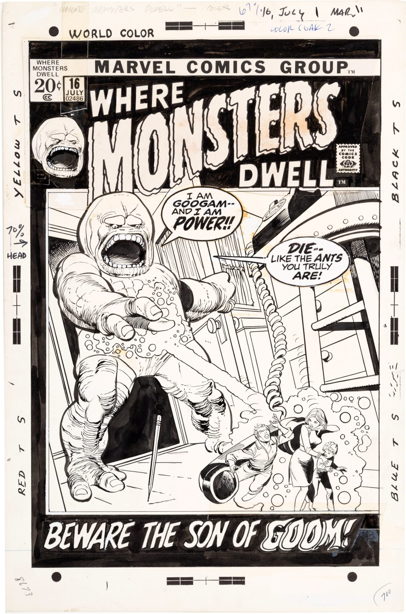 Where Monsters Dwell #1-38