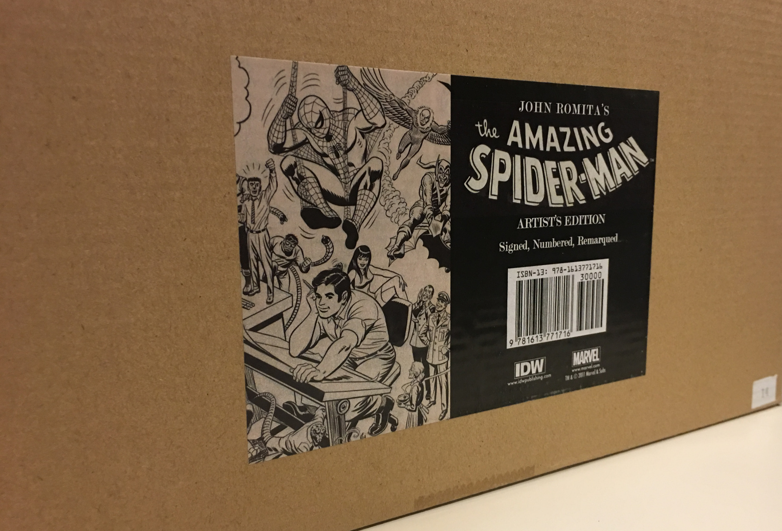 Review | John Romita's The Amazing Spider-Man Artist's Edition