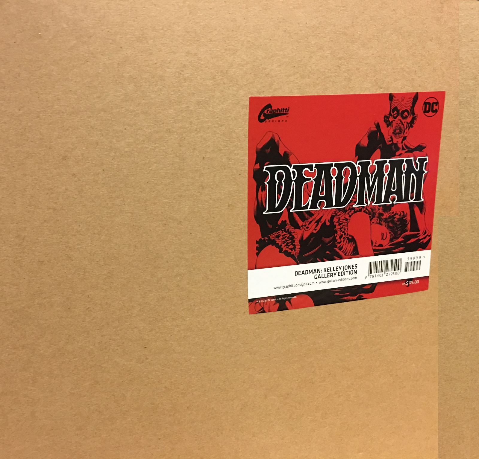 Review | Deadman: Kelley Jones Gallery Edition