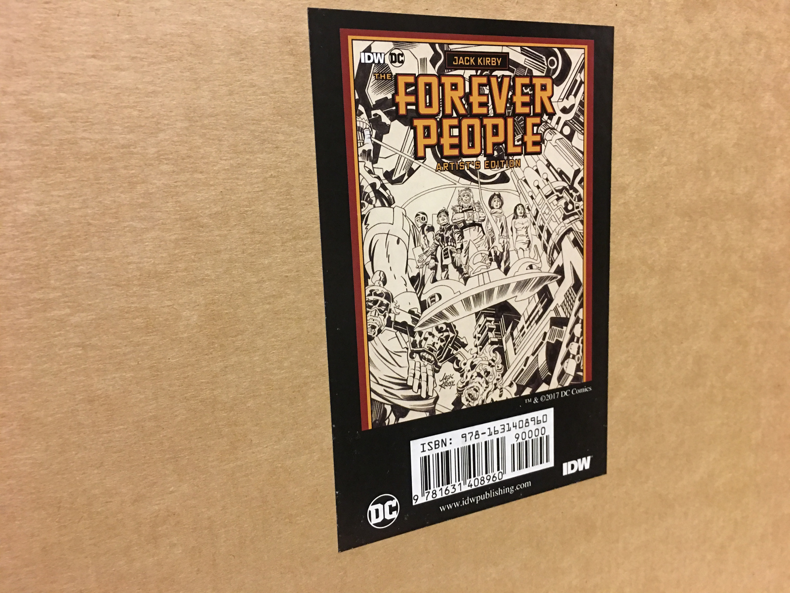 Review | Jack Kirby The Forever People Artist's Edition