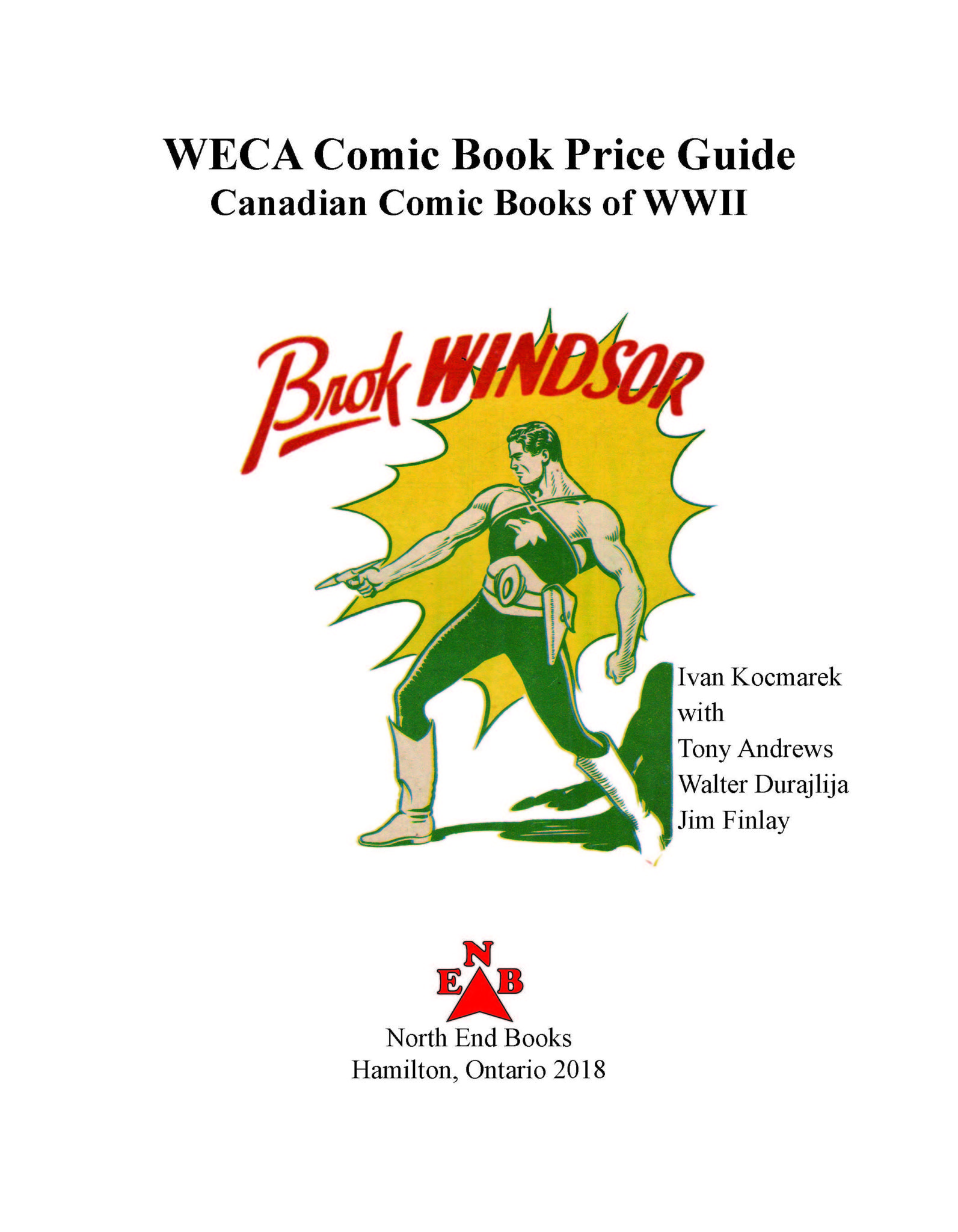 WECA Comics and WECA Pulps • Comic Book Daily