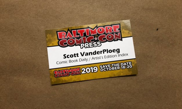 Baltimore Comic*Con: A Buyer's Delight