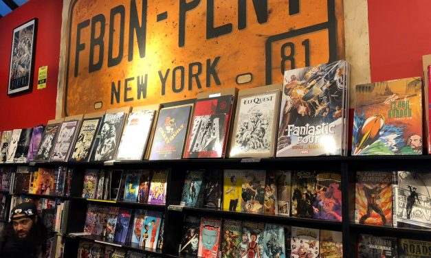 New York Comics Shops and Big Books