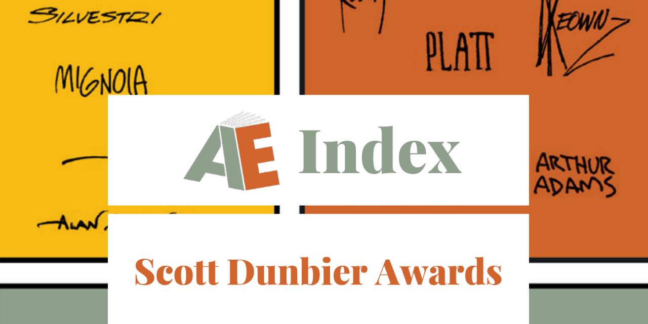 2018 Scott Dunbier Awards: Voting Open!