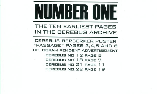 Review | Cerebus Archive Number One