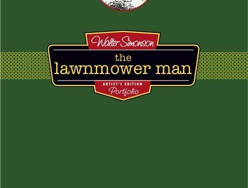 Review | Walter Simonson's Lawnmower Man: Artist's Edition Portfolio