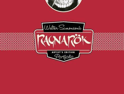 Review | Walter Simonson's Ragnarök Artist's Edition Portfolio