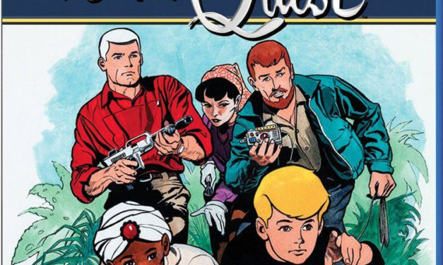Jonny Quest Remastered on Blu-Ray