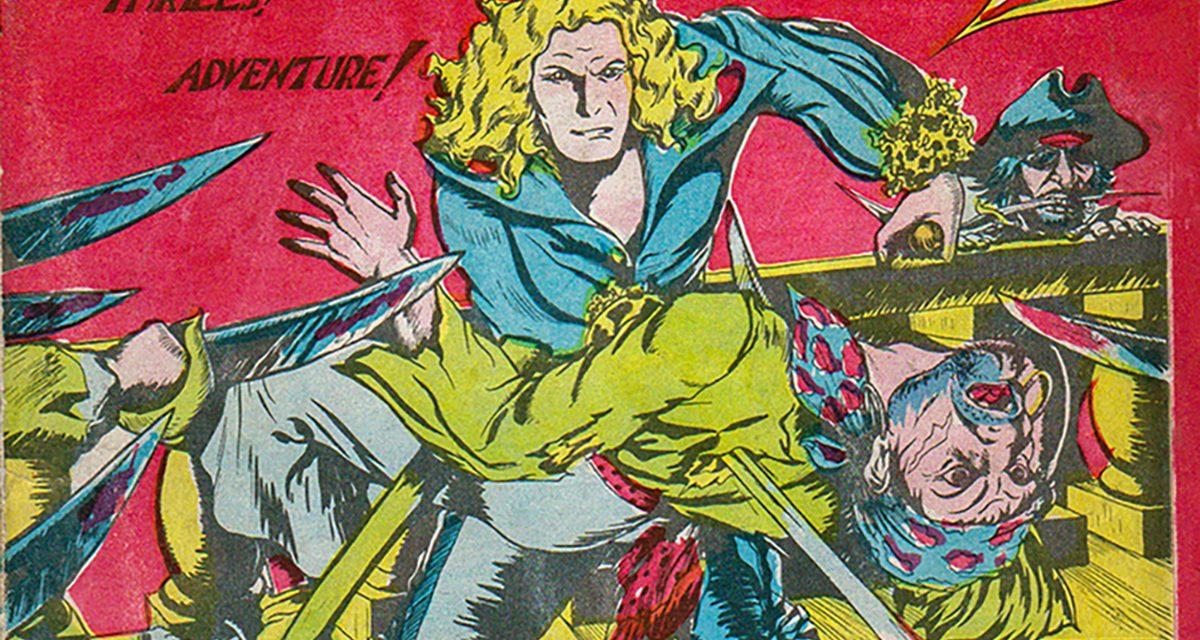 Wow Comics and Edmund Legault