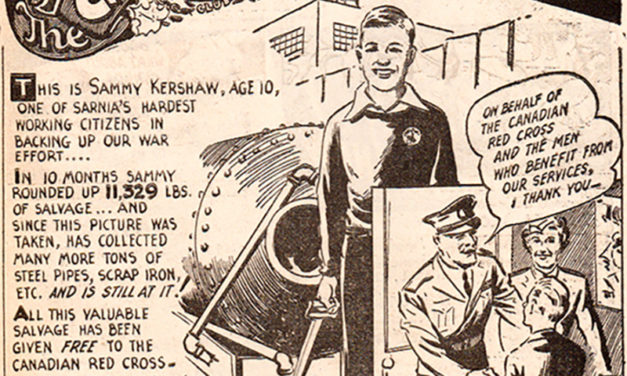 Canadian War Time Comics: An Early Kids Social Network