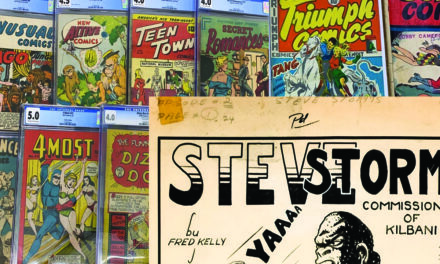 First Annual Canadian comics auction on I.C.E.